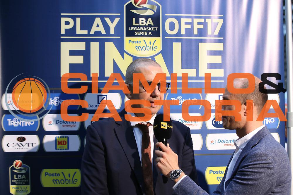 De Raffaele Walter, Dolomiti Energia Trentino vs Umana Reyer Venezia LBA Serie A Playoff Finale gara 4 stagione 2016/2017 Pala Trento, Trento 16 giugno 2017
