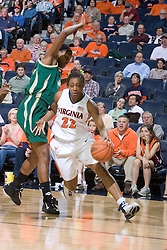 The Virginia Cavaliers defeated the South Florida Bulls 73-71 in the third round of the Women's NIT held at John Paul Jones Arena in Charlottesville, VA on March 22, 2007.