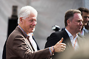 October 19-22, 2017: United States Grand Prix. President Bill Clinton