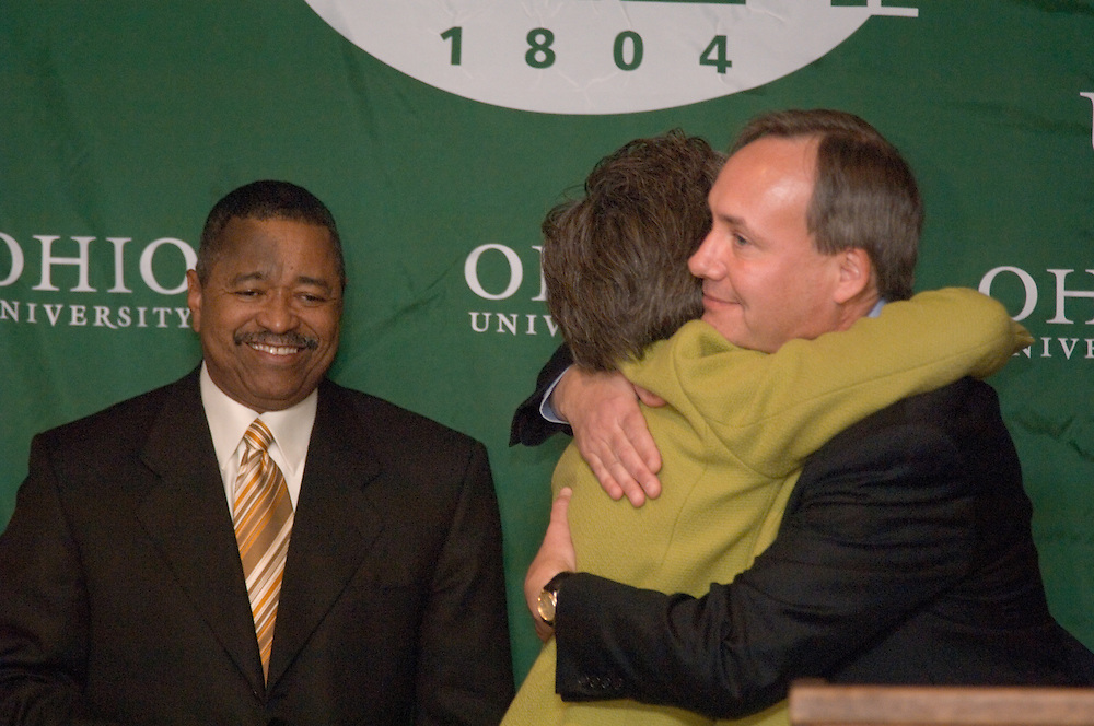 Athens, Ohio -- Gregory J. Shepherd, Ph. D., has been named dean of the College of Communication at Ohio University, effective Jan. 1, 2006, President Roderick J. McDavis announced today.  Shepherd was named interim dean of the college in August 2004.. .?Following an extensive national search, it became apparent that Dr. Greg Shepherd is the best person to serve as dean of the College of Communication.? McDavis said.  ?As interim dean, he spearheaded several initiatives including helping to develop new international relationships for the college, expanding the Appalachia READS program, and launching the GRID lab and arcade, which develops interactive digital technology. Greg possesses the strong leadership skills that will ensure a quality learning experience for our students and the continued success of this nationally respected college.?. .As dean, Shepherd provides leadership for the college?s five schools-the E.W. Scripps School of Journalism, the J.W. McClure School of Communication Systems Management, the School of Communication Studies, the School of Telecommunications and the School of Visual Communication-and the WOUB Center for Public Media.  He succeeds Provost Kathy Krendl as dean.. .?I look forward to continuing to serve Ohio University and the College of Communication,? Shepherd said.  ?I am pleased to be working with Provost Krendl, President McDavis and the high caliber faculty, staff and students in the college.  I am determined to continue to advance the quality of our educational programs and our outstanding academic reputation.?. .Shepherd joined Ohio University in 2001 as professor and director of the School of Communication Studies.. .Prior to joining Ohio University, Shepherd was an assistant professor at the University of Iowa from 1983 to 1989 and an assistant and associate professor at the University of Kansas from 1989 to 2001.. .Shepherd received a doctorate in speech communication from the University of Illinois, a master?s degree in spe