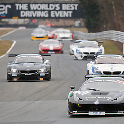 Race 1 - At the Avon Tyres British GT Championship held at Oulton Park, Cheshire, UK..Vita4one Team Italy, Jay Palmer & Matteo Bobbi, Ferrari 458 Italia GT3, GT3.1st April 2013 WAYNE NEAL | STOCKPIX.EU