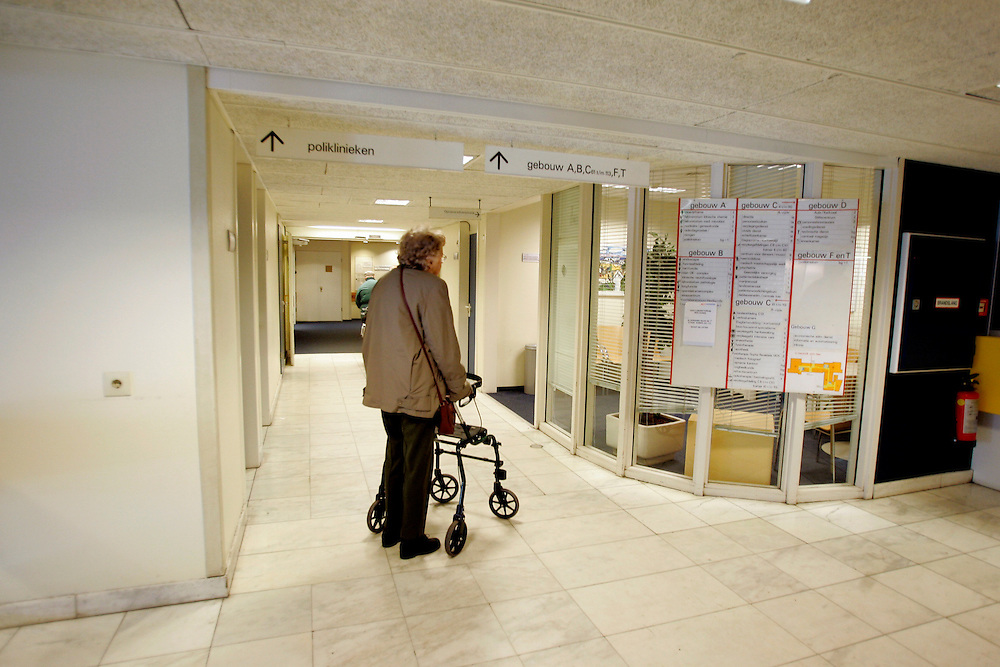 The Hague. Hospital. MCH. Medisch Centrum Haaglanden..Photo: Gerrit de Heus