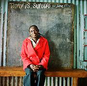 NAIROBI, KENYA – MARCH 9, 2010: Portrait of an African woman.
