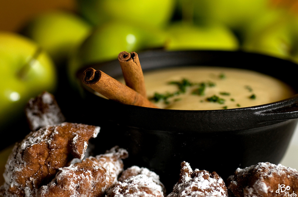 Ted's on Main's apple bisque with apple fritters photographed on Wednesday, Sept. 17, 2008 in Medford, NJ. (Photo/Douglas M. Bovitt)