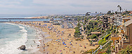 View from Inspiration Point in Corona del Mar, Newport Beach, California