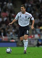Photo: Tony Oudot/Richard Lane Photography.  England v Czech Republic. International match. 20/08/2008. <br /> John Terry of England .