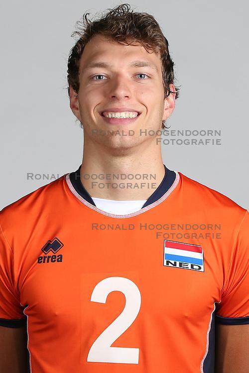 20160516 NED: Selectie Nederlands volleybal team mannen, Arnhem<br />Wessel Keemink