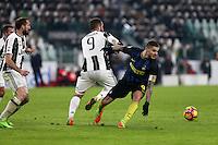 05.02.2017- Torino - Serie A 2016/17 - 23a giornata  -  Juventus-Inter nella  foto: Mauro Icardi e Gonzalo Higuain