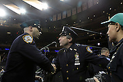 29 December-New York, NY:  Pat Lynch, Patrolman Benevolence Association President attend the 2014 New York Police Academy Graduation Ceremony held at Madison Square Garden on December 29, 2014 in New York City.  (Photo by Terrence Jennings/terrencejennings.com)