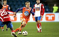 Fotball<br /> Tippeligaen Eliteserien<br /> 26.10.08<br /> Ullevaal Stadion<br /> FC Lyn Oslo - Aalesund AaFK<br /> Johan Arneng<br /> Foto - Kasper Wikestad