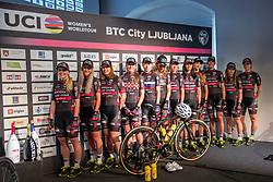 Presentation of BTC City Ljubljana and Ljubljana Gusto Xaurum cycling teams for season 2018, on March 14, 2018 in Ljubljana castle, Ljubljana, Slovenia. Photo by Urban Urbanc / Sportida