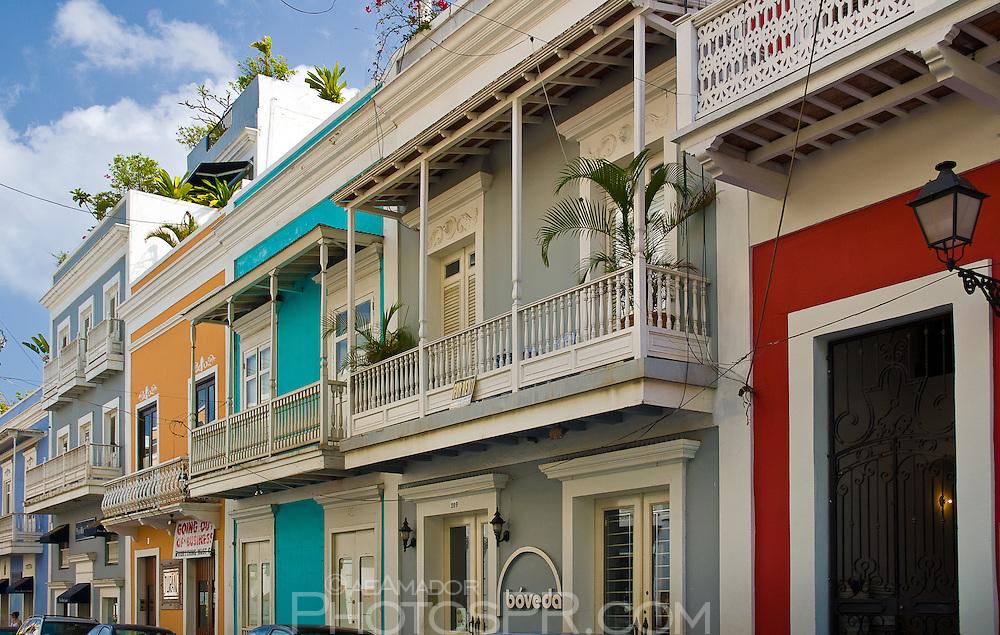Cristo Street balconies