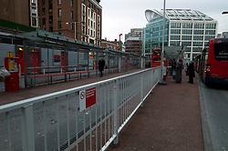 UK ENGLAND LONDON 20DEC11 - Victoria bus terminal outside Victoria Station, central London... ..jre/Photo by Jiri Rezac....© Jiri Rezac 2011