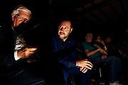 """Matteo Salvini, al centro, partecipa ad """"Atreju"""" evento organizzato dal partito politico di destra Fratelli d'Italia. Roma 22 settembre 2017. Christian Mantuano / OneShot<br /> <br /> Matteo Salvini (C) at 'Atreju' event organized by Fratelli d'Italia, italian right wing party. Rome 22 september 2017. Christian Mantuano / OneShot"""