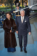 Stockholm-29-4-2016 <br /> <br /> 70th birthday celebration of King Carl Gustaf of Sweden.<br /> <br /> Royal Operas special concert Nordic Museum<br /> <br /> <br /> COPYRIGHT/Royalportraits Europe/BERNARD RUEBSAMEN
