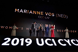 Marianne Vos (NED) at UCI Cycling Gala 2019 in Guilin, China on October 22, 2019. Photo by Sean Robinson/velofocus.com