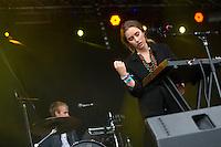Sommerfesten på Giske.<br /> Foto: Svein Ove Ekornesvåg