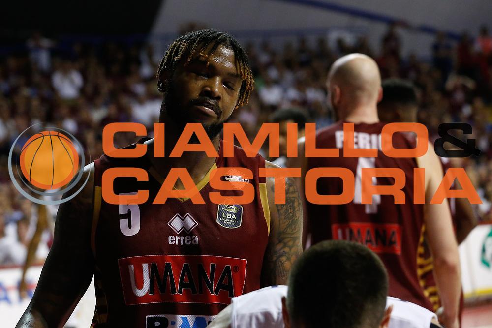 Julian Stone<br /> Umana Reyer Venezia - Dolomiti Energia Aquila Basket Trento<br /> Lega Basket Serie A 2016/17 Finali Gara 02<br /> Venezia, 12/06/2017<br /> Foto Ciamillo-Castoria / M. Brondi