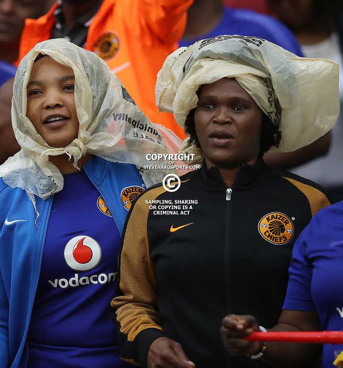 General views of Kaizer Chiefs fans during the Telkom Knockout quarterfinal  match between Kaizer Chiefs and Free State Stars at the Moses Mabhida Stadium , Durban, South Africa.6 November 2016 - (Photo by Steve Haag Kaizer Chiefs)