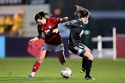 Olivia Chance of Bristol City Charlie Wellings of Bristol City - Mandatory by-line: Ryan Hiscott/JMP - 08/12/2019 - FOOTBALL - Stoke Gifford Stadium - Bristol, England - Bristol City Women v Birmingham City Women - Barclays FA Women's Super League