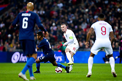 Wayne Rooney of England passes the ball - Mandatory by-line: Robbie Stephenson/JMP - 15/11/2018 - FOOTBALL - Wembley Stadium - London, England - England v United States of America - International Friendly