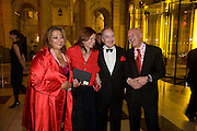 Zahar Hadid, Lady Foster, Lord Palumbo and Lord Foster. Opening of Blood on Paper: the art of the Book. V & A. Museum. London. 14 April 2008. Afterwards there was a dinner hosted by Lady Foster.  *** Local Caption *** -DO NOT ARCHIVE-© Copyright Photograph by Dafydd Jones. 248 Clapham Rd. London SW9 0PZ. Tel 0207 820 0771. www.dafjones.com.