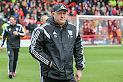 Cardiff City first team manager, Russell Slade during the Sky Bet Championship match between Bristol City and Cardiff City at Ashton Gate, Bristol, England on 5 March 2016. Photo by Shane Healey.