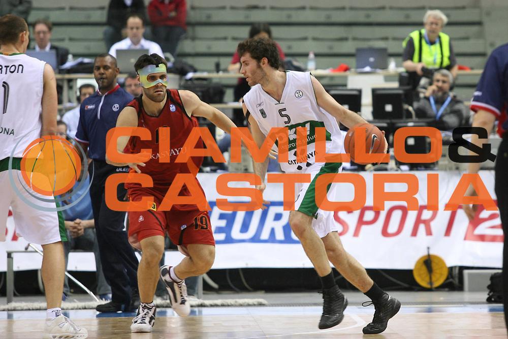 DESCRIZIONE : Torino Uleb Cup 2007-08 Final Eight Finale Akasvayu Girona DKV Joventut <br /> GIOCATORE : Rudy Fernandez <br /> SQUADRA : DKV Joventut <br /> EVENTO : Uleb 2007-2008 <br /> GARA : Akasvayu Girona DKV Joventut <br /> DATA : 13/04/2008 <br /> CATEGORIA : Palleggio <br /> SPORT : Pallacanestro <br /> AUTORE : Agenzia Ciamillo-Castoria/G.Ciamillo