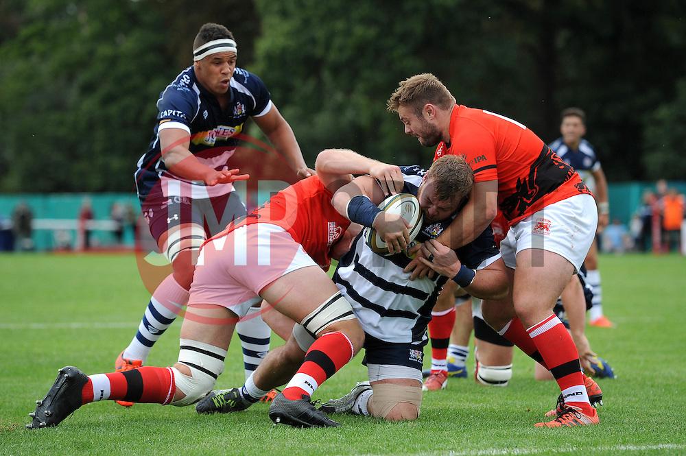 - Mandatory byline: Dougie Allward/JMP - 07966 386802 - 13/09/2015 - RUGBY UNION - Old Deer Park - Richmond, London, England - London Welsh v Bristol Rugby - Greene King IPA Championship.