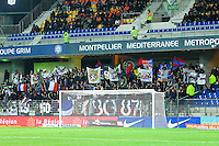 Supporters Lyon - 08.03.2015 -  Montpellier / Lyon  -  28eme journee de Ligue 1 <br />