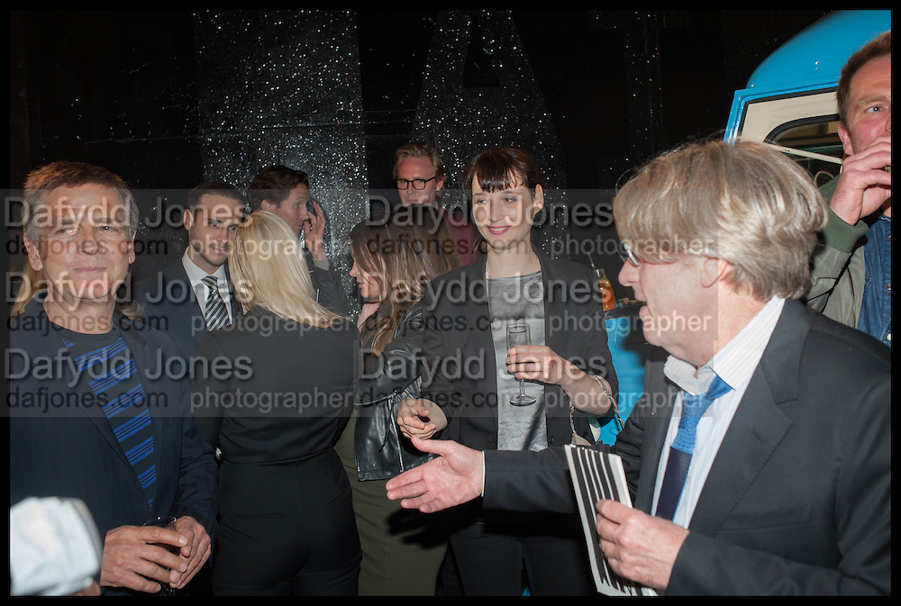 ANDREAS GURSKY; FRANK COHEN, Frank Cohen and Nicolai Frahm host Julian Schnabel's 'Every Angel has a Dark Side,' private view and party. IN AID OF CHICKENSHED. Dairy Art Centre, 7a Wakefield Street, London. 24 APRIL 2014