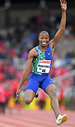 Luvo Manyonga (RSA) places fourth in the long jump at 26-5¾ (8.07m)during the Bauhaus-Galan in a IAAF Diamond League meet at Stockholm Stadium in Stockholm, Sweden on Thursday, May 30, 2019. (Jiro Mochizuki/Image of Sport)