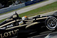 Oriol Servia, INDYCAR Spring Training, Sebring International Raceway, Sebring, FL 03/05/12-03/09/12