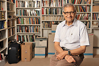 Amartya Sen, photographed at Trinity College, Cambridge