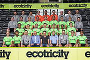 Forest Green Rovers 1st team squad photo 2018/19 during the 2018/19 official team photocall for Forest Green Rovers at the New Lawn, Forest Green, United Kingdom on 30 July 2018. Picture by Shane Healey.