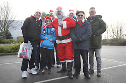 Santa and Stoke fans before the match - Mandatory by-line: Jack Phillips/JMP - 17/12/2016 - FOOTBALL - Bet365 Stadium - Stoke-on-Trent, England - Stoke City v Leicester City - Premier League