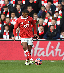 Bristol City's Mark Little in action during the FA Cup fourth round match between Bristol City and West Ham United at Ashton Gate on 25 January 2015 in Bristol, England - Photo mandatory by-line: Paul Knight/JMP - Mobile: 07966 386802 - 25/01/2015 - SPORT - Football - Bristol - Ashton Gate - Bristol City v West Ham United - FA Cup fourth round