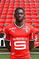Hamari Traore during photoshooting of Stade Rennais for new season 2017/2018 on September 19, 2017 in Rennes, France. (Photo by Philippe Le Brech/Icon Sport)