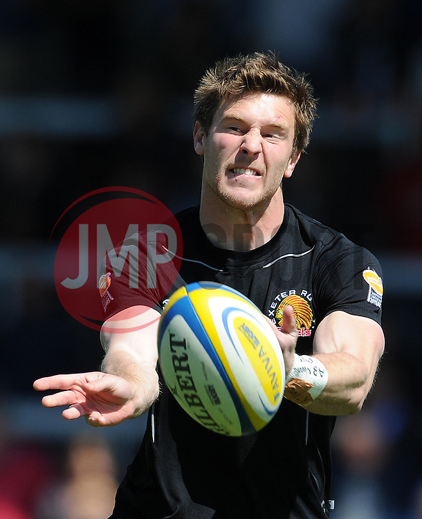 Exeter Chiefs WIll Chudley Photo mandatory by-line: Harry Trump/JMP - Mobile: 07966 386802 - 16/05/15 - SPORT - RUGBY - Aviva Premiership - Exeter Chiefs v Sale Sharks - Sandy Park, Exeter, England.