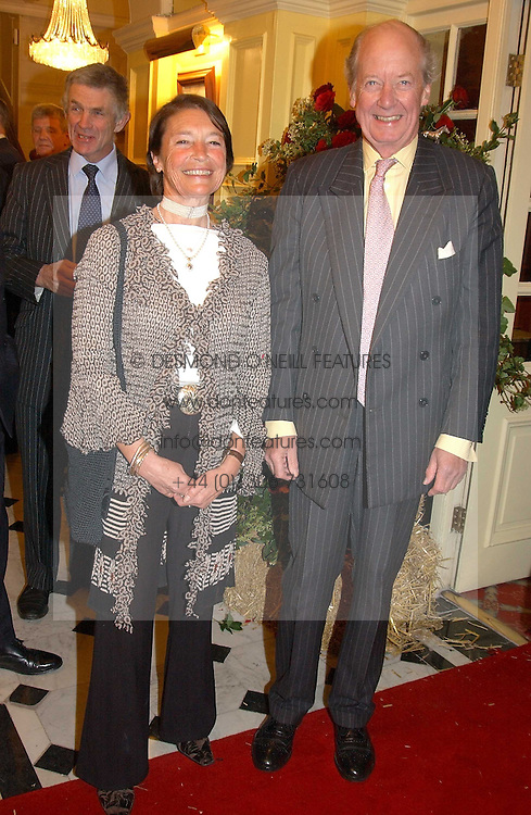 at a party to say goodbye to Ian Goring and hello to his son Jeremy Goring as MD of the Goring Hotel,Beeston Place, London on 2nd March 2005.<br /><br />NON EXCLUSIVE - WORLD RIGHTS