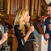 NLD/Amsterdam/20170201 -  Lancering All You Need Is Love Magazine, Robert ten Brink en partner Roos Cialona en Wendy van Dijk
