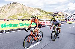 10.07.2019, Fuscher Törl, AUT, Ö-Tour, Österreich Radrundfahrt, 4. Etappe, von Radstadt nach Fuscher Törl (103,5 km), im Bild Sebastian Schoenberger (Neri Selle Italia KTM, AUT) // during 4th stage from Radstadt to Fuscher Törl (103,5 km) of the 2019 Tour of Austria. Fuscher Törl, Austria on 2019/07/10. EXPA Pictures © 2019, PhotoCredit: EXPA/ JFK