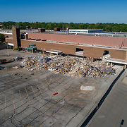 Demolition progress update of Metcalf South Mall in Overland Park, Kansas in May 2017.