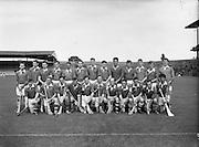 All-Ireland Junior Hurling Championship Home Final, Meath v Kerry. .Meath Team..10.09.1961