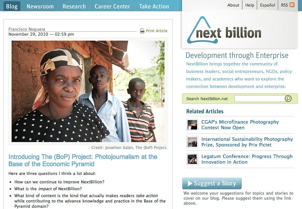 NextBillion; Photographs.