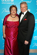 30 November 2010- New York, NY- l to r: Caryl M. Stern, President & CEO of The U.S. Fund for UNICEF and Michael Bellevue, CEO, Baccarat at The Seventh Annual UNICEF Snowflake Ball Presented by Baccarat on November 30, 2010 and held at Cipriani 42nd Street in New York City. Photo Credit: Terrence Jennings