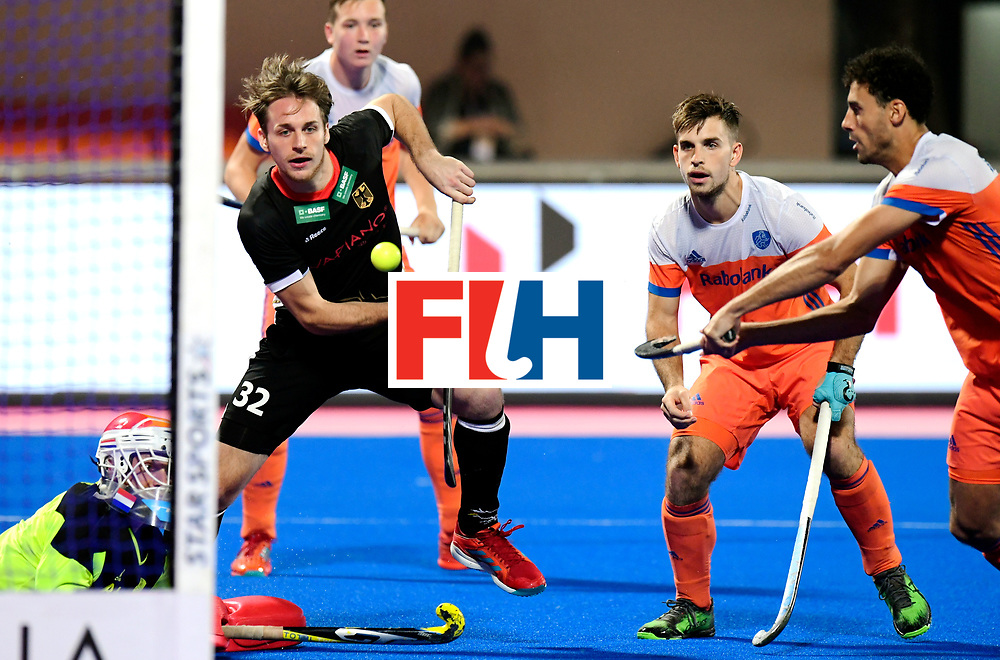 Odisha Men's Hockey World League Final Bhubaneswar 2017<br /> Match id:16<br /> Germany v Netherlands<br /> Foto: Niklas Bruns (Ger)<br /> COPYRIGHT WORLDSPORTPICS FRANK UIJLENBROEK