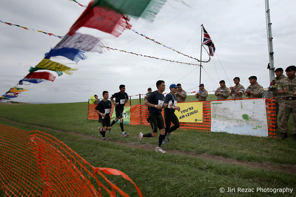 UK ENGLAND 29JUL17 - Teams arrive at checkpoint 7 at Devil's Dyke during the Trailwalker 2017 challenge across the South Downs, England.<br /> <br /> jre/Photo by Jiri Rezac<br /> <br /> © Jiri Rezac 2017
