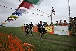 UK ENGLAND 29JUL17 - Teams arrive at checkpoint 7 at Devil's Dyke during the Trailwalker 2017 challenge across the South Downs, England.<br /> <br /> jre/Photo by Jiri Rezac<br /> <br /> &copy; Jiri Rezac 2017