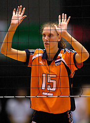 22-06-2000 JAP: OKT Volleybal 2000, Tokyo<br /> Nederland - Korea 3-1 / Ingrid Visser